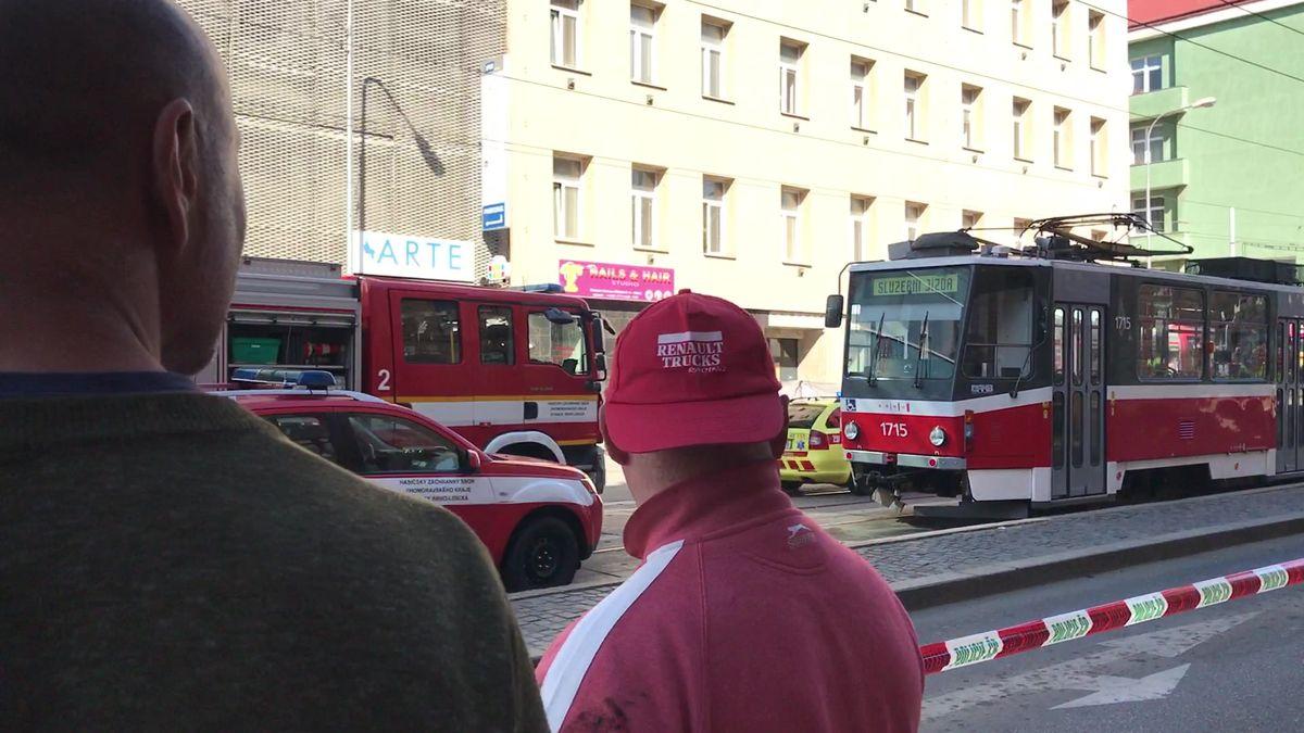 Žádný kočárek na silnici, za nehodu vBrně zřejmě může technická závada trolejbusu